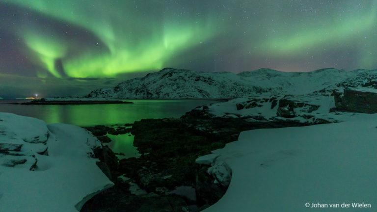 De eerste 'Arctic Aurora Chase' 2019